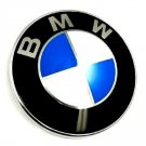 BMW Badge Emblem 82mm Blue White Hood Trunk BMW Logo Replacement E46 E39 E36 E60