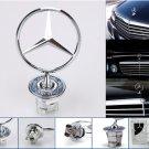 """Mercedes Benz 44mm Badge d""""""""emblème de logo de capot de  pour W124 W202 W203"""