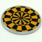 Target Dart Board Car Decal Bike Truck Sticker Emblem Badge Logo 73mm Round 3D
