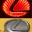 3D LED Car Logo Auto Badge Emblems Red light for Lexus 270 RX450h CT200h EX250