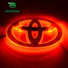 3 Colors Car Led Emblem Led Mark Light Car Led Logo For Toyota 12.0cm X 8.0cm