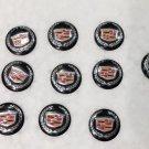 NEW 10PCS 14MM Ford Remote Flip Key Cadillac Case Logo Badge Sticker Emblem