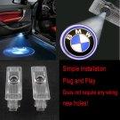 2Pcs BMW Car Door LED Light Logo Projector Easy Installation Emblem Ghost HD