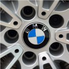 4 Pcs BMW Emblem Logo Badge Hub Wheel Rim Center Cap Hubcap Cover 68mm Silver