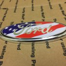 """NEW FORD TRUCK FRONT HOOD GRILL GRILLE EMBLEM LOGO OVAL SYMBOL SIGN 7"""""""" USA"""