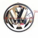 145mm Front ABS Chrome Grille Round Emblem Logo For VW Golf Jetta MK5 Passat CC