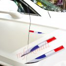 2X 3D France Flag Decal Sticker Logo Badge Emblem Auto Door Fender Decorate Trim