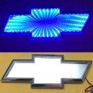 3D LED Car Tail Logo Auto Badge Light Blue Light for Chevrolet/ Holden Cruze