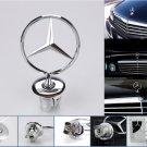 44mm Mercedes Benz Bonnet Hood Logo Emblem Badge For W124 W202 W203 W208 W210