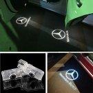 LED Door Light Projector White Logo Emblem HD For Mercedes Benz R-Class 2006-17