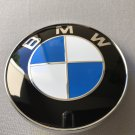 BMW Emblem 82mm 2 Pin Front Hood or Rear Truck Logo Badge Decal 51148132375 OEM