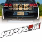 3D ABS APR Stage III+ Logo Car Emblem Badge Sticker Decal for Golf Audi MK5 6 7