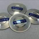 65mm Car Wheel Hub Center Stickers Cap Badge Adhesive logo Fits for Volvo Silver