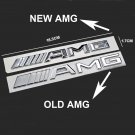 Silver 3D For New 2016 Benz AMG Trunk Emblem Logo Rear Car Sticker Badge