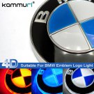 Illuminated Auto Car Led 4D Grille BlLED Logo Emblem Light For BMW