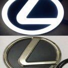 4D LED Car Logo Auto Badge Emblems White light for Lexus 270 RX450h CT200h EX250