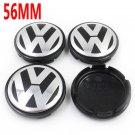 4X 56mm Wheel Center Hub Caps Logo For VW VOLKSWAGEN Golf Jetta Beetle 1J0601171