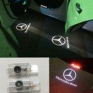 LED Door Light Projector White Logo Emblem HD For Mercedes Benz R-Class 2006-13