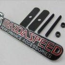 "Metal Logo""""MS MAZDASPEED"""" Grill Gille Badge Front Emblem Hood Sticker For Mazda"