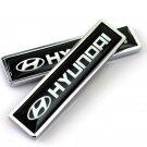 2x Car Motor Side Sticker Side Fender Emblem Badge Logo Accessories For Hyundai