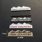 3D High Country Metal Emblem Badge for Jeep Cherokee Wrangler Renegade Compass