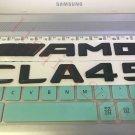 "Matt black """" CLA45 + AMG """" Letters Trunk Emblem Badge Sticker for Mercedes Benz"