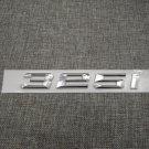 Chrome Number Trunk Rear Letters Emblem Badge Emblems for BMW 3 Series 325i