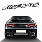 New Car Metal AMG letter Emblem Badge Sticker For Benz Car Body Rear Trunk Lid