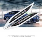 2 Sport Car Metal Knife Badge Emblem Decal Sticker For ALPINA BMW Racing M Power