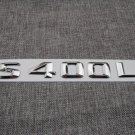 Chrome Number Letters Trunk Emblem Badge Emblems Badges for Mercedes Benz S400L