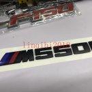 BMW HIGH QUALITY NEW F10 M550i 5 SERIES LABEL STICKER BADGE EMBLEM BLACK