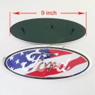 "9"""""""" FORD EMBLEM for F150 F250 F350 OVAL FRONT GRILLE OR REAR TAILGATE Nameplate"