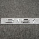Chrome Number Trunk Rear Letters Emblem Badge Sticker for BMW 3 Series 316i