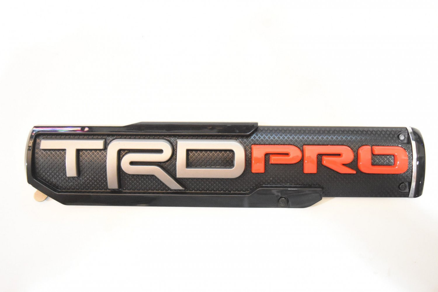 """10"""""""" x 2.25"""""""" ABS Molded TRD PRO Emblem Nameplate Badge For Toyota Tacoma"""