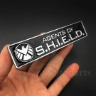 Metal Chrome Agents of Shield Marvel Car Side Trunk Emblems Decal Sticker Badge