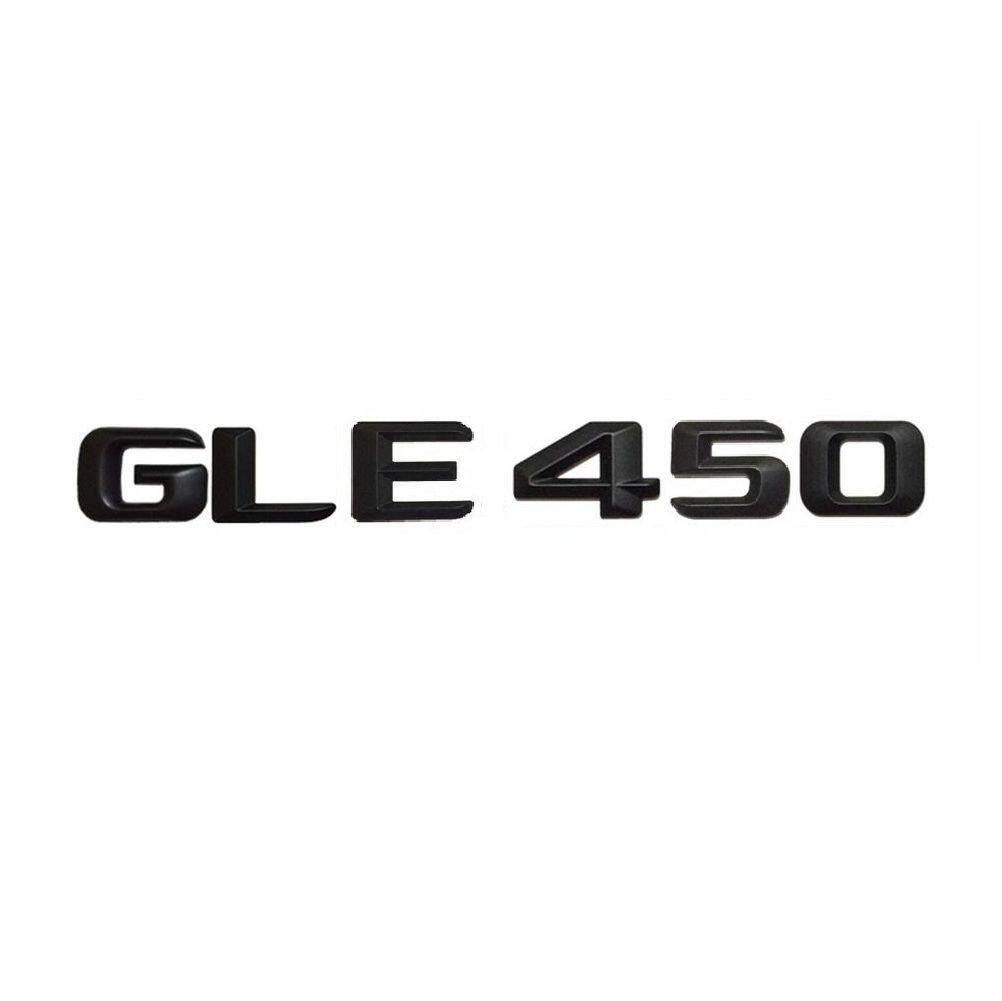 Black Number Letters Trunk Badge Emblem Emblems Badges for Benz GLE450 AMG
