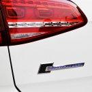 Blue Supercharged Emblem Badge FIT VW MK7 6 Golf GTI Tiguan CC Jetta SCIROCCO R