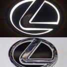 5D LED Car Logo Auto Badge Emblems White light for Lexus GS300 ES300 ES240 RX350