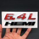6.4L HEMI ABS Badge Emblem Decal Sticker Car Auto SRT6 8 10 R/T