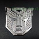 3D Car Transformer Autobot Logo Decal Metal Auto Emblem Badge Decoration Sticker