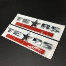 2pcs Texas Edition Star Flag Car Auto Body Side Emblem Badges Decal Sticker ABS