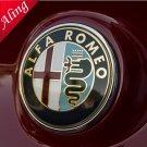 2pcs color Alfa Romeo emblem badge logo insignia 74mm - 145,146,147,15<wbr/>5,15