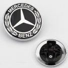 FOR Mercedes Benz Standing Star Conversion to Flat Mount Hood Emblem Badge