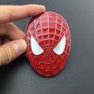 Metal Spiderman Logo Mask Emblem Car Motorcycle Badge Trunk Decal Stickers