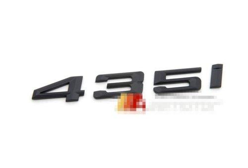 New 2014-up BMW 435i Matte Black Trunk Emblem Badge for 4 Series - F32 F33