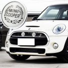 For Mini Cooper All version Front Grille Emblem Badge Mini Rainbow