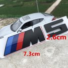 M5 DECAL BLACK METAL 3D EMBLEM BADGE STICKER FOR BMW 5 SERIES M5