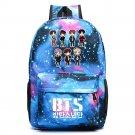 NEW BTS Backpack Galaxy School Bags Bookbag Children Fashion Shoulder Bag  St