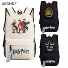 NEW Harry Potter Hogwarts Backpack School Bags Book Children Bag Fashion Stud