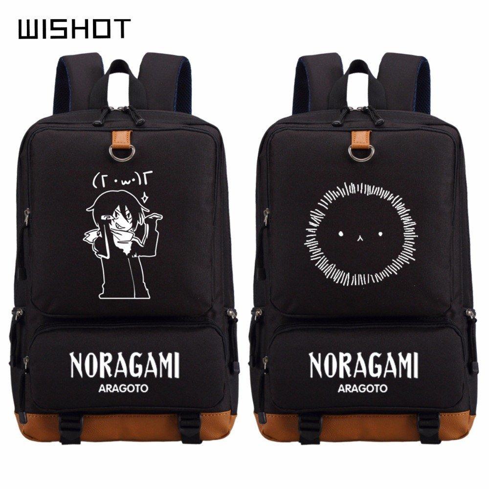 "NEW Noragami Aragoto Yato bag backpack for teenagers Men Women""""s boy girl""""s S"